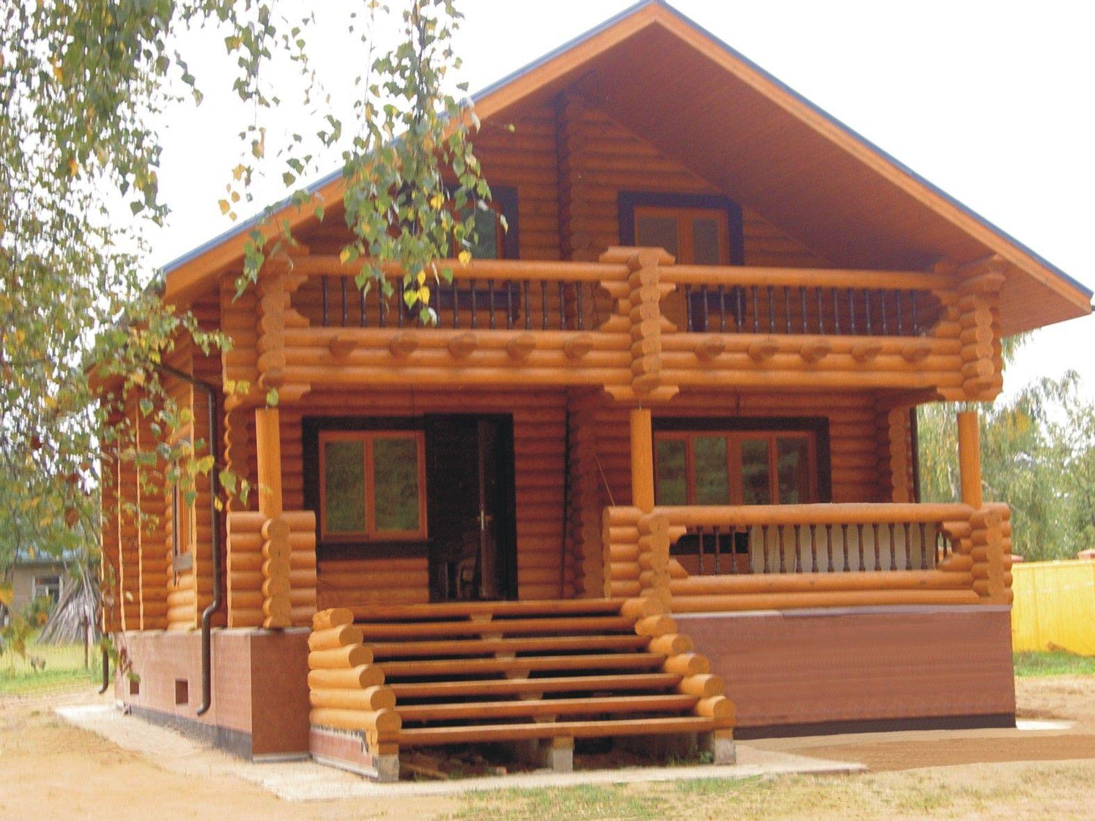 Деревянные дома – выбор архитектурного проекта