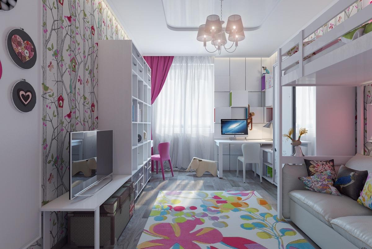 Дизайн детской комнаты. Простые решения